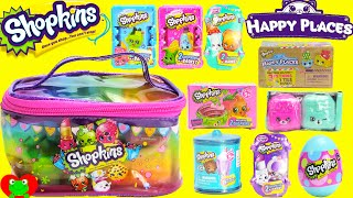 Shopkins Happy Places Season 1 2 3 4 5 Fashion Spree Candy Jar and Surprise Egg