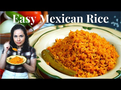 How to make MEXICAN RICE | TRADITIONAL Mexican/SPANISH rice RECIPE