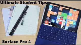 Ultimate Student Guide To Using Microsoft Surface Go, Surface Pro and Surface Book