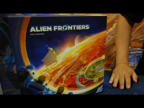 Alien Frontiers 5th Edition Preview - GamerNode at Gen Con 2017