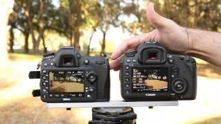 Nikon D7100 Movie Mode Comparison - With the Canon 5D Mark III