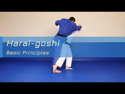 Harai-goshi - Basic principles