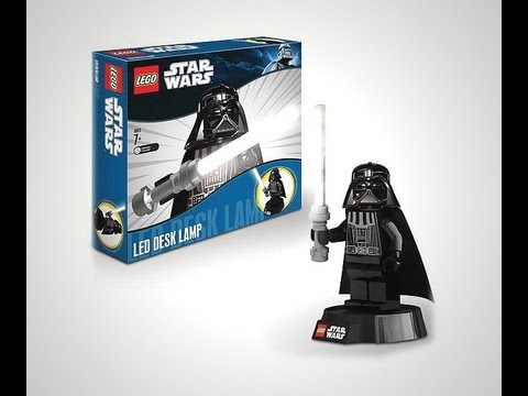 Star Wars Funtastic Darth Vader LEGO Lamp HD Overview | www.flyguy.net