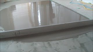 Trick for Leveling a Concrete Floor Mryoucandoityourself