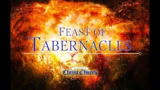 Feast of Tabernacles - The shaping of a nation from one ecclesiastical year to the next