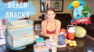 Snacks To Pack For The Beach With Kids! Tips & Ideas!