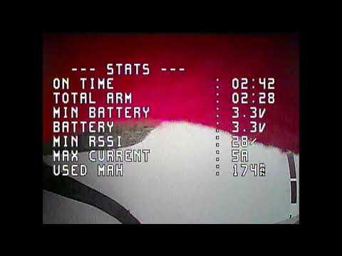 Testing 450mah GNB 1S battery outdoors after the 48kHz ESC firmware upgrade - Mobula6 (2020 #26)