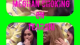 MEGHAN CHOKING BACK TEARS AFTER SHOCKING TREATMENT!