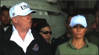 Did Trump Forget Melania Is Standing Next To Him?