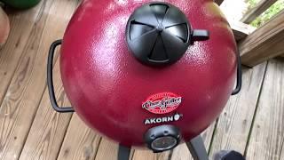 Is it worth it ? Kamado Akorn  jr seasoning and grilling