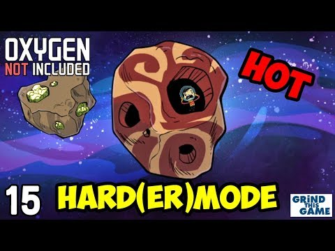 Oxygen Not Included - HARDEST Difficulty #15 - Steam Turbine Cooling (Oasisse) [4k]