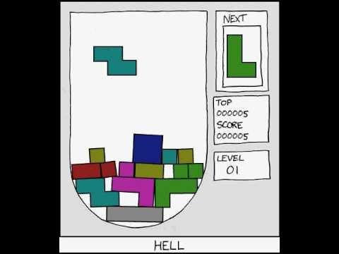 Vytrollené Hell Tetris