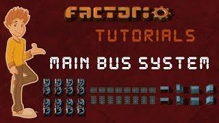 Production / Main Bus   Factorio Tutorial