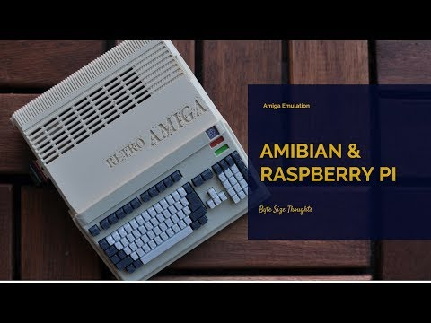 An Hour With ULTIMATE AMIGA 128gb Image on Raspberry PI 3 Over 6500