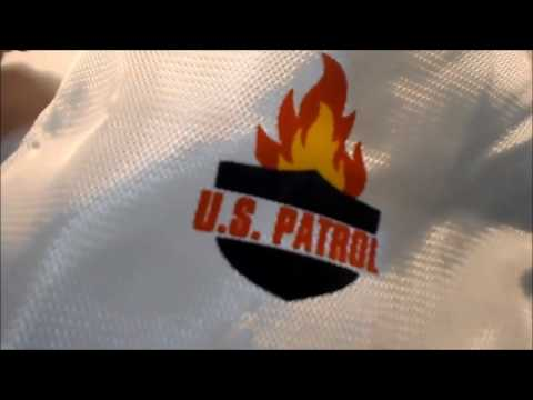 Fire Resistant Document Bag Test (400⁰ F for 20 minutes)