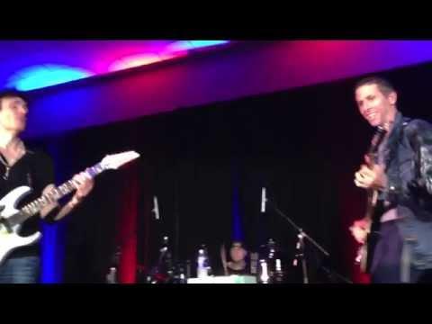 The Attitude Song:  Paul Saffire accompanies Steve Vai
