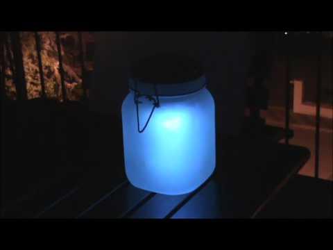 oneConcept Sunjar luce decorativa LED RGB