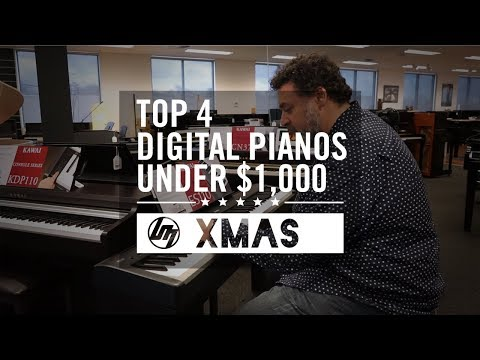 Top 4 Digital Pianos under $1,000 for Christmas 2018 | Better Music