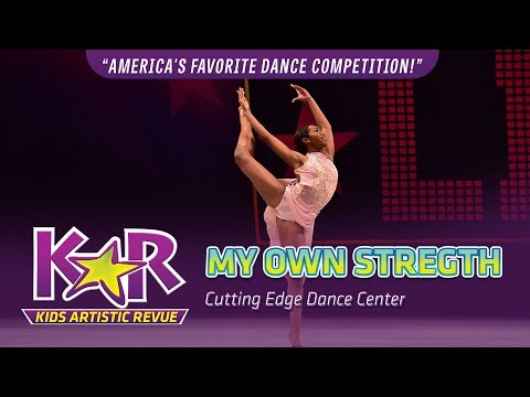 """My Own Strength"" from Cutting Edge Dance Center"