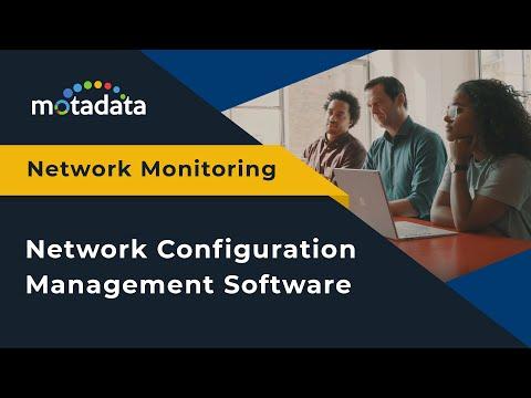 Motadata's Network Configuration Management Software