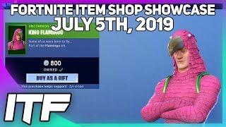 Fortnite Item Shop *NEW* KING FLAMINGO SET! [July 5th, 2019] (Fortnite Battle Royale)