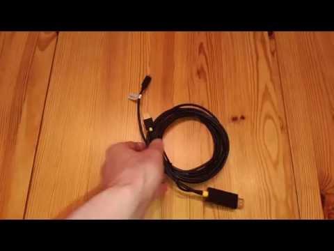 Smartphone SlimPort HDMI zu Micro HDMI Kabel im Test - Testbericht Rezension