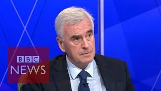 John McDonnell apologises for IRA remark - BBC News