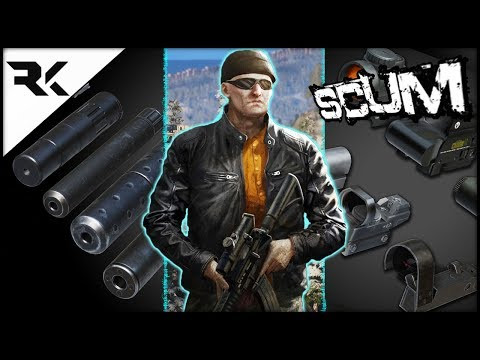 SCUM UPDATE - HOLY COW! Sights/Scopes & Suppressors [All Tested] + MORE!