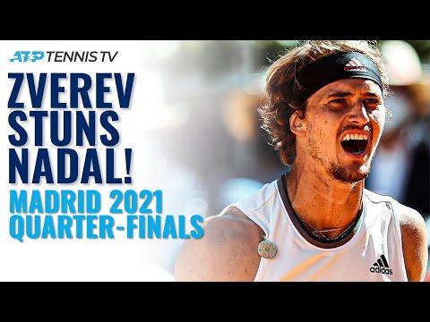 Alex Zverev STUNS Rafa Nadal in Madrid!