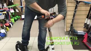 """Городской Самокат Hudora Big Wheel AIR Dual Brake 230 от компании Интернет-магазин """"Timatoma"""" - видео"""