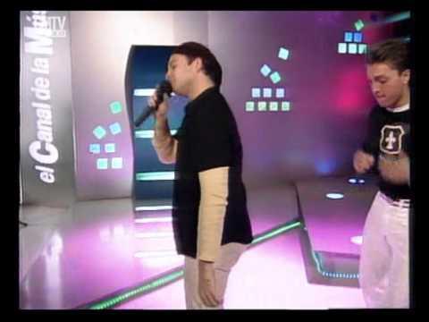 Banda XXI video El que quiera bailar conmigo - Estudio CM 2002