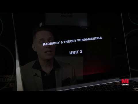Harmony & Theory Fundamentals Online Course   MI Online