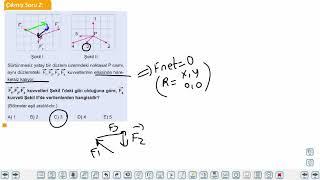 Eğitim Vadisi 11.Sınıf Fizik 2.Föy Bileşke Vektör 2 Konu Anlatım Videoları