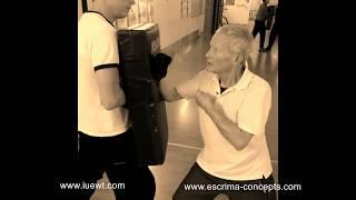 Escrima Senior mit 73 Jahren