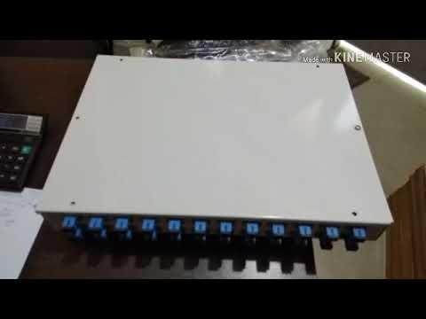 12 Port Fiber Patch Panel