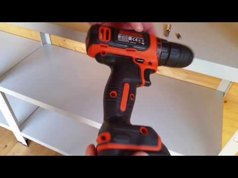 BDCDD12GPA Akkuschrauber Black and Decker