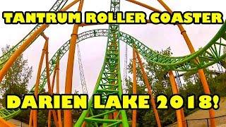 Tantrum NEW Roller Coaster at Darien Lake 2018 Front Seat POV