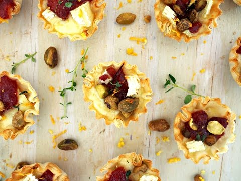 Appetizer Recipe: Mini Brie & Cranberry Bites by Everyday Gourmet with Blakely