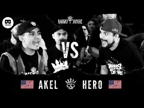 BDS VR: Akel 🇺🇸 vs Hero 🇺🇸 [ Batallas Escritas ] ( Round En Realidad Virtual 180 / VR 180 )