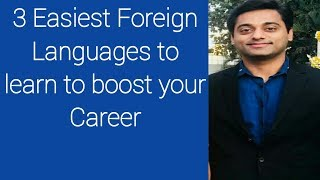 Foreign Language. 3 Easiest Foreign Languages To Learn To Boost Your Career.