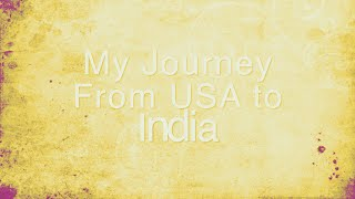 My Journey From USA To India | Oka Pranam Song Cover Ft. | Bahubali 2