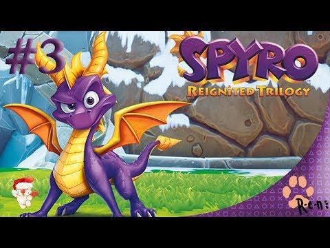 Spyro the Dragon / Spyro: Reignited Trilogy (PS4) CZ záznam streamu #3 |R-e-n|