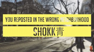 SHOKK青 - You Reposted In The Wrong Neighborhood