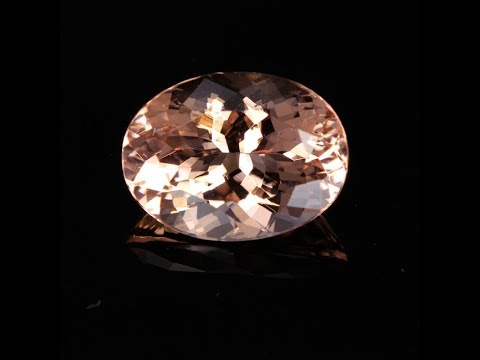 Nigerian Morganite Oval 3.83 Carats