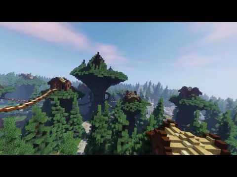 Cinematic Video!] Ilia Feon Elven City Minecraft Map