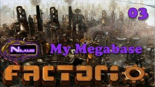 Factorio - My Megabase E02 - Designing Train parking - Самые