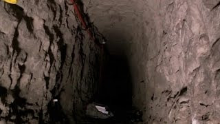 Rare View Of Tunnels Under Border Wall