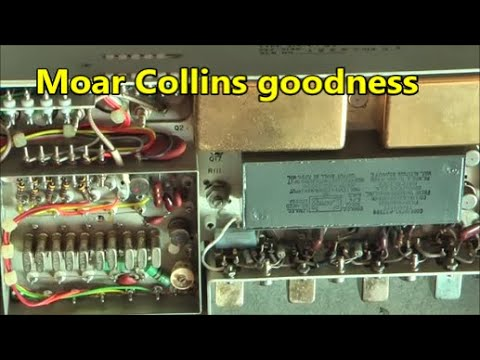 Avionics teardown Collins 51R 6 VOR LOC receiver