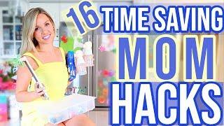 16 REAL LIFE TIME SAVING MOM HACKS TO MAKE LIFE EASIER