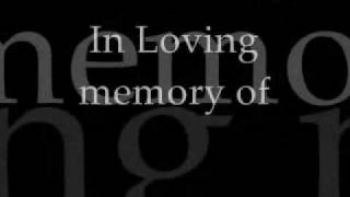 Gambar cover In Loving Memory With Lyrics Alter Bridge